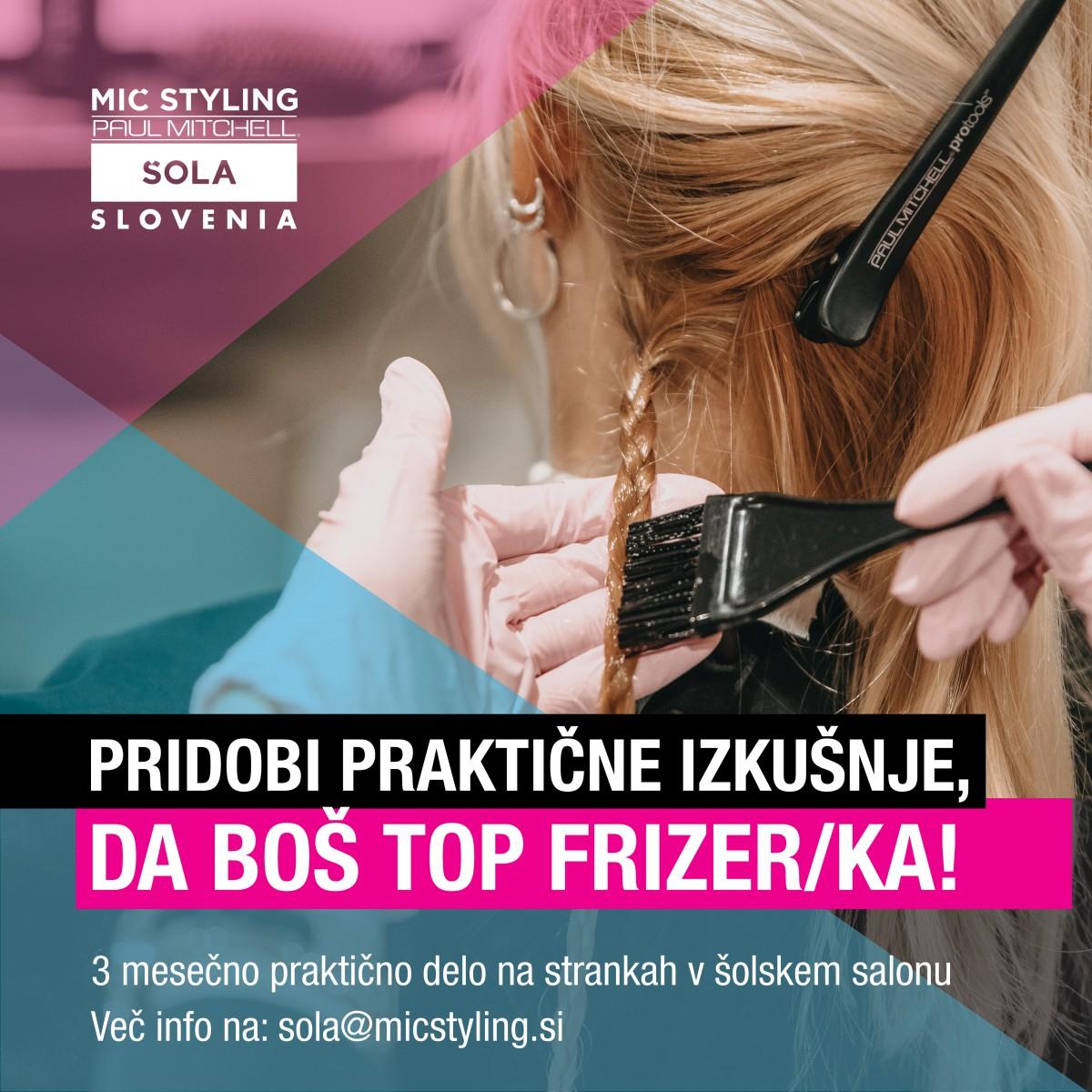 POSTANI TOP FRIZER/KA V 3 MESECIH!